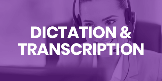 Learn more about Dictation and Transcription